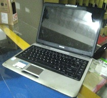 jual laptop toshiba satellite l310 2nd