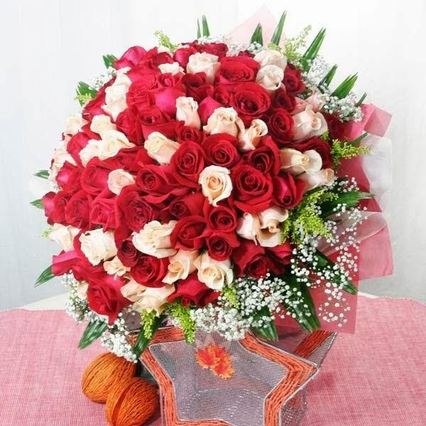 Toko bunga di mangga dua jual handbouquet