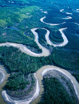 نهر الامازون يشغل نهر الامازون نطاقا