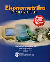 toko buku rahma: buku EKONOMETRIKA PENGANTAR, pengarang gunawan, penerbit BPFE