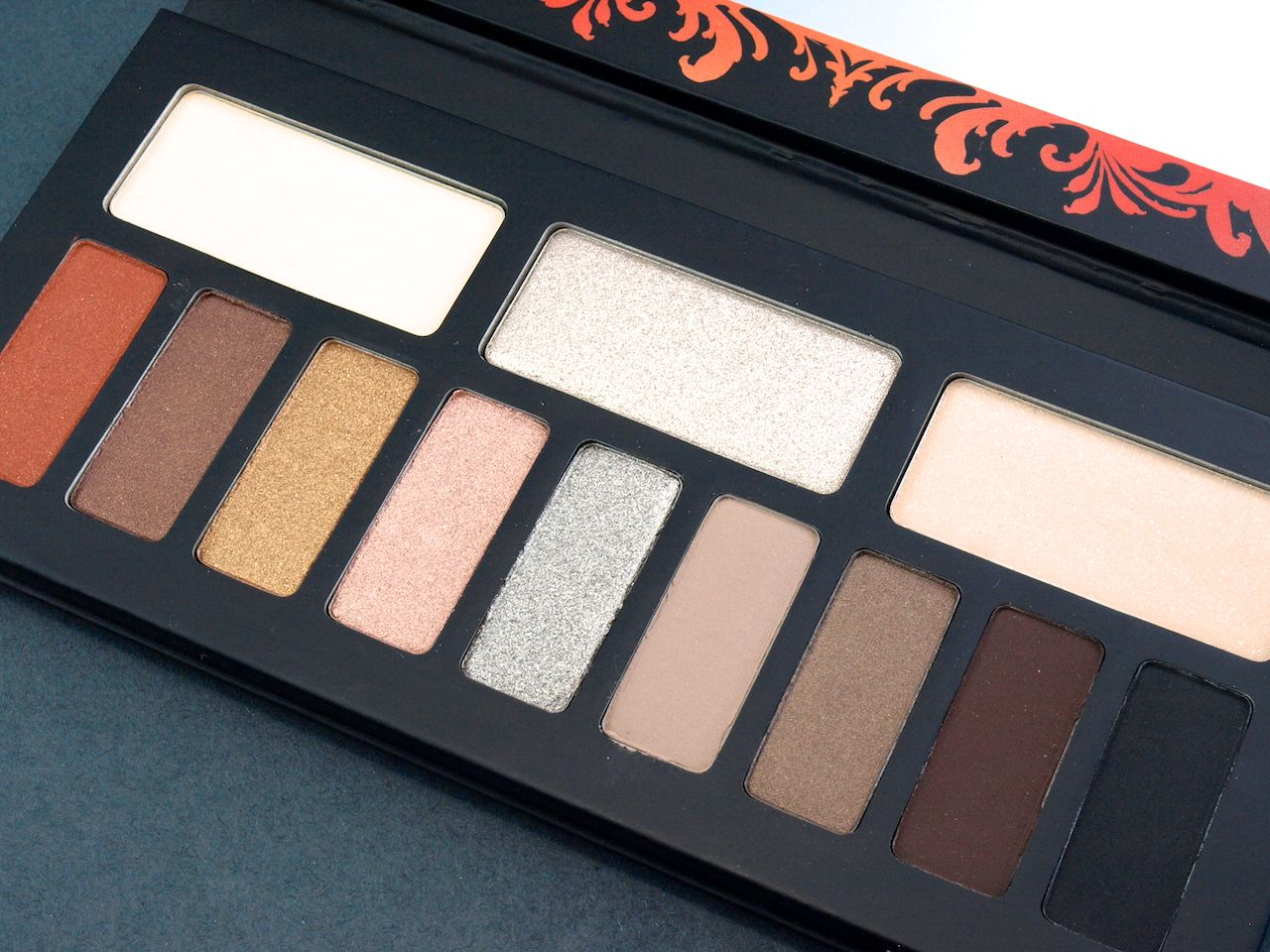 Kat Von D Monarch Eyeshadow Palette: Review and Swatches