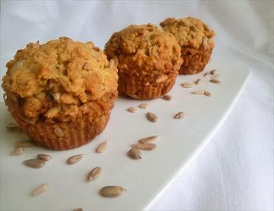 muffins ai semi di girasole