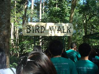 bird walk entrance in Zoobic Safari
