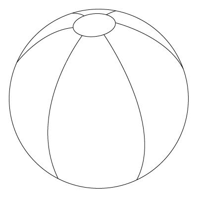 BAUZINHO DA WEB - BAÚ DA WEB : Bola para colorir, pintar ou imprimir ...