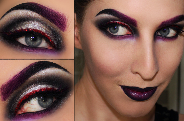 Halloween Makeup Tutorial: Disney Villain Maleficent ...