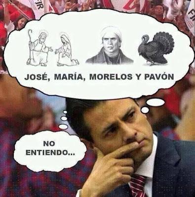 Memes de Peña Nieto del 15 de septiembre