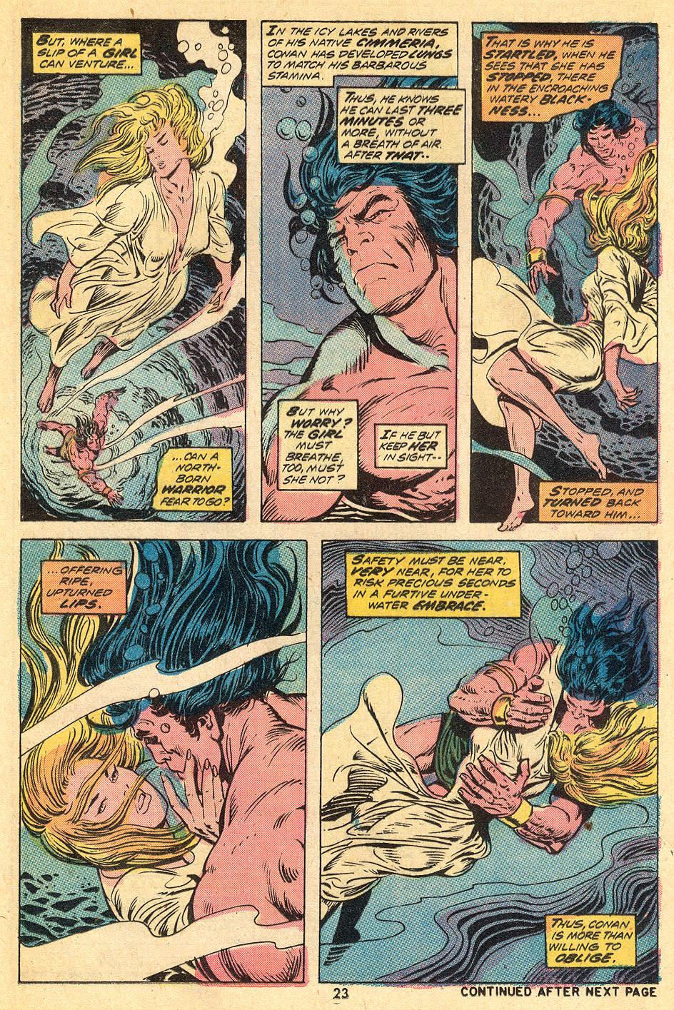 Conan the Barbarian (1970) Issue #32 #44 - English 15
