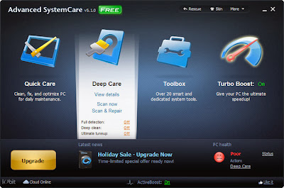 Download IObit Advanced System Care Full Version 2013