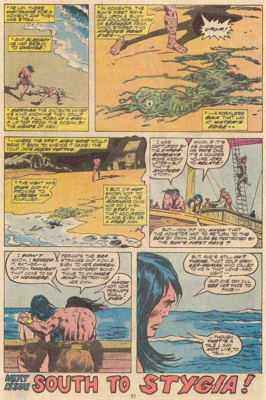 Conan the Barbarian (1970) Issue #69 #81 - English 21