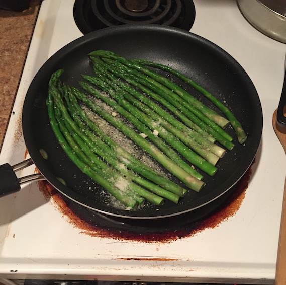how to make asparagus in the microwave