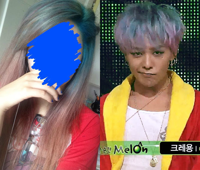 G dragon hair crayon