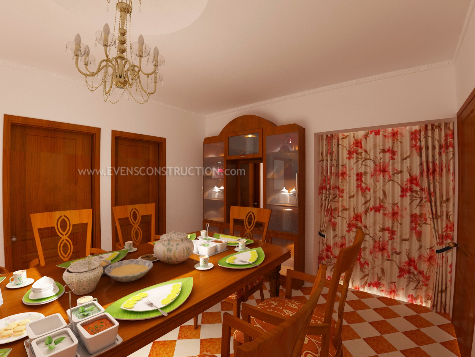 Evens Construction Pvt Ltd Dining Room