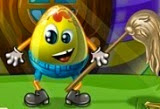 Con todos los niños dejando un gran lío detrás después de que su búsqueda de huevos de Pascua, sólo lo mejor de los equipos de limpieza puede venir y ayudar a este pequeño huevo de oro que nunca fue encontrado! Ayúdale a conseguir limpiar toda la casa!