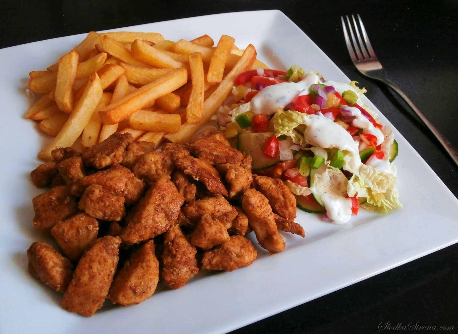 shoarma z kurczaka przepis