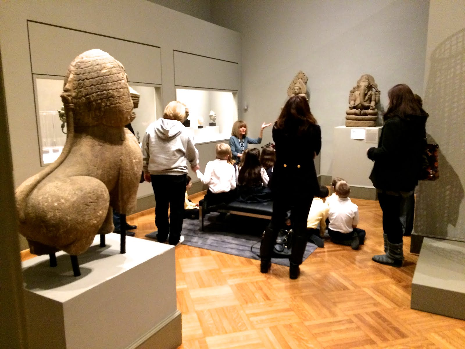 MIA Docents bring 12th Century Art Alive in 2015.