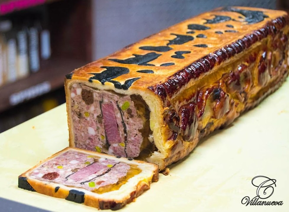 Fall Pork Pate en Croute