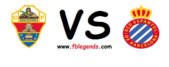 مشاهدة مباراة ألتشي واسبانيول بث مباشر اليوم 6-4-2015 اون لاين الدوري الاسباني يوتيوب لايف rcd espanyol vs elche cf