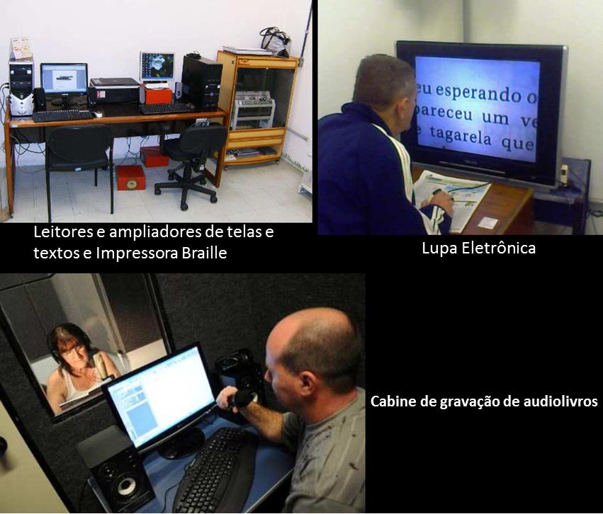 equipamentos de informatica e cabine de gravação de audiolivros