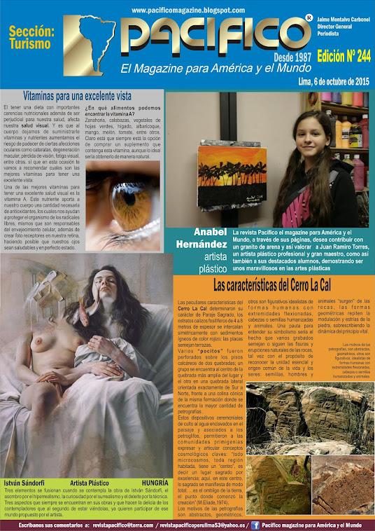 Revista Pacífico Nº 244 Turismo