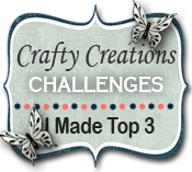 Top 3 Crafty Creations Challenges nº331