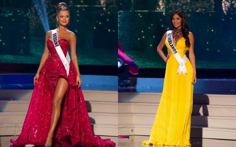 Miss Universo 2015, Miss Ucrânia e Miss Holanda