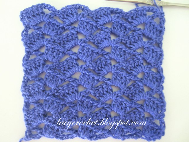 Pretty Crochet Patterns : Lacy Crochet: Simple and Pretty Crochet Stitch