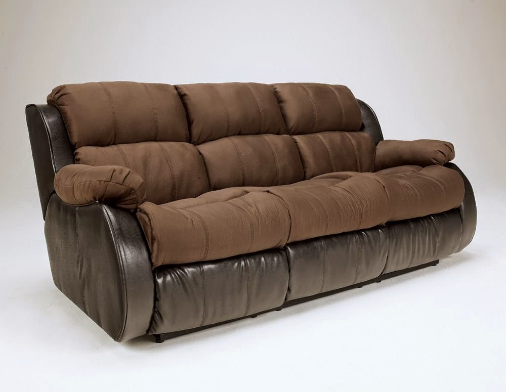Presley Cocoa Reclining Sofa Review