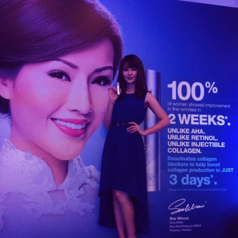 Beauty Ambassador: Soo Wincci during the launch of the miracle AvonAnew AF33 Booster