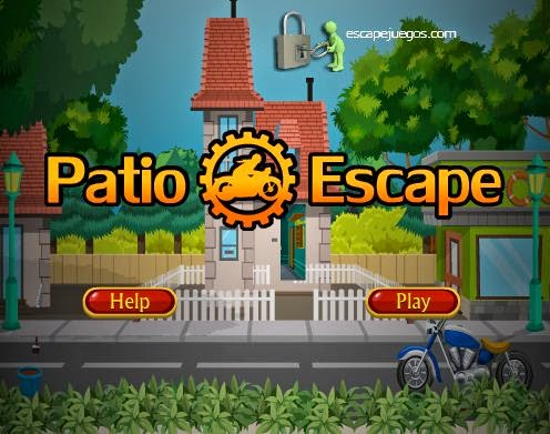 Patio Escape Walkthrough