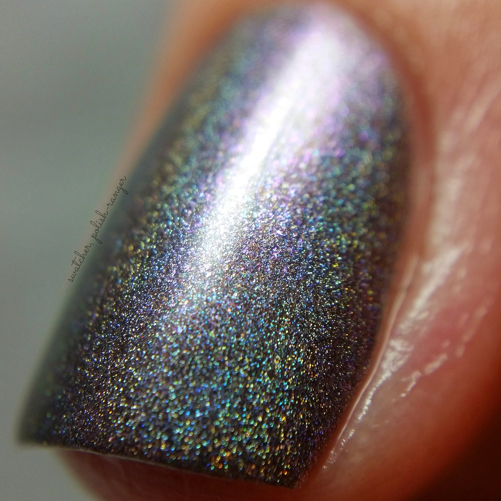 swatcher, polish-ranger | Octopus Party Nail Lacquer Arctis Tor macro swatch