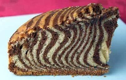 Kakaolu Zebra Keki Tarifi