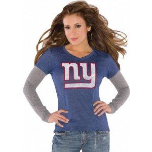 New York Giants woman apparel fashion