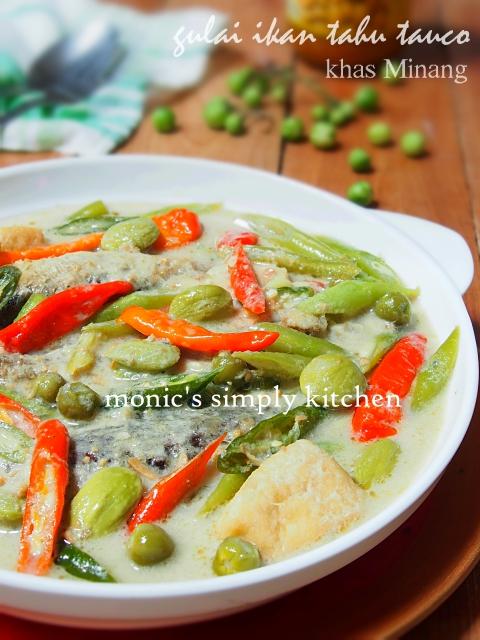 resep gulai ikan tauco padang