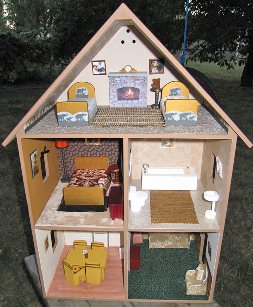 Free Barbie Dollhouse Furniture Plans Online Woodworking