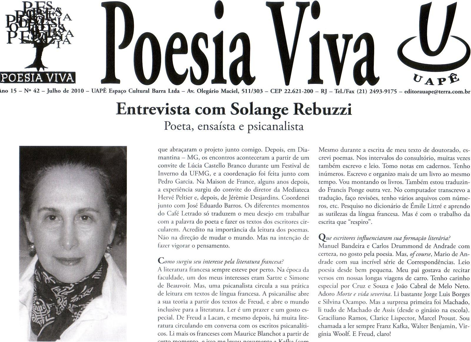 Jornal Poesia Viva