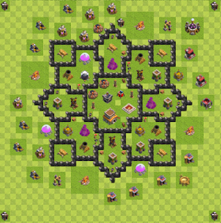 Base Hybrid Layout TH8 By. Vixycoon