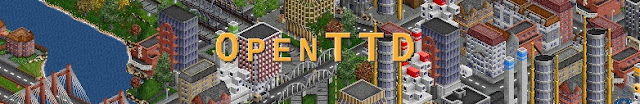 OpenTTD - Transport Tycoon Deluxe HD Cover Game