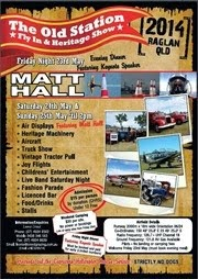Old Station Fly-in - 24-25 May 2014 - Featuring Matt Hall!!