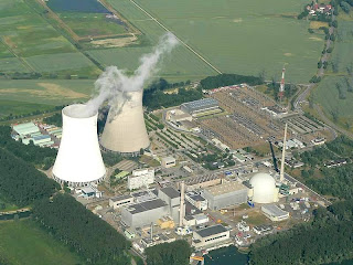Photo of Philippsburg nuclear power station in Germany