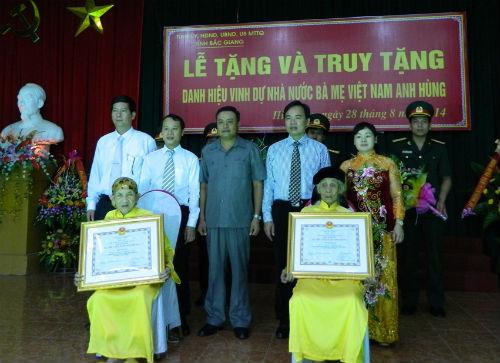 Lễ trao tặng danh hiệu