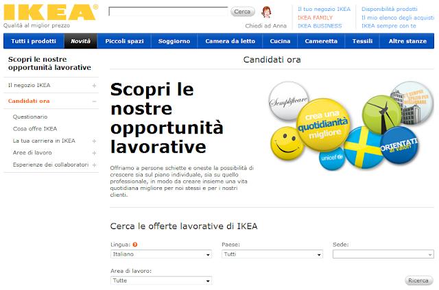 Lavora con noi: IKEA