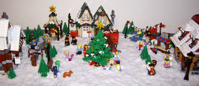 Lego Winter display