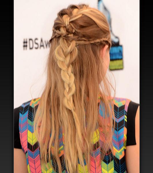 Cortes de cabelos femininos longos com trança