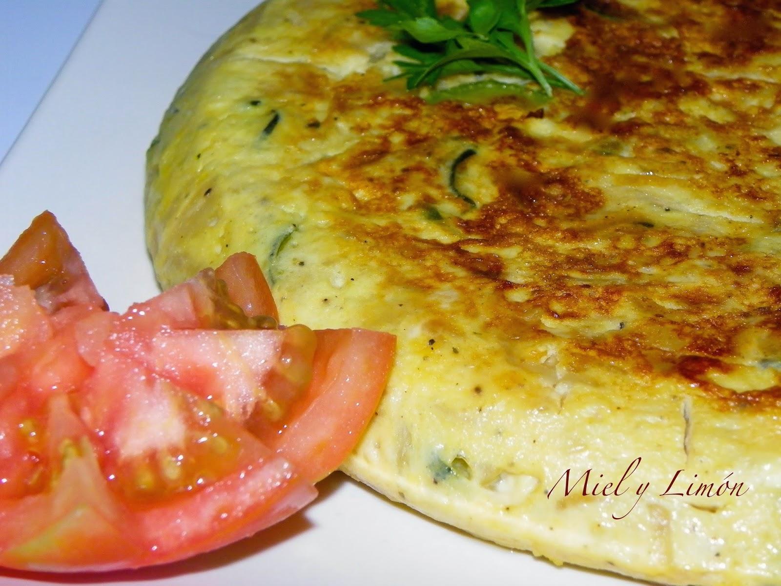 Tortilla de calabacin y cebolla cocinar en casa es - Tortilla de calabacin y cebolla ...