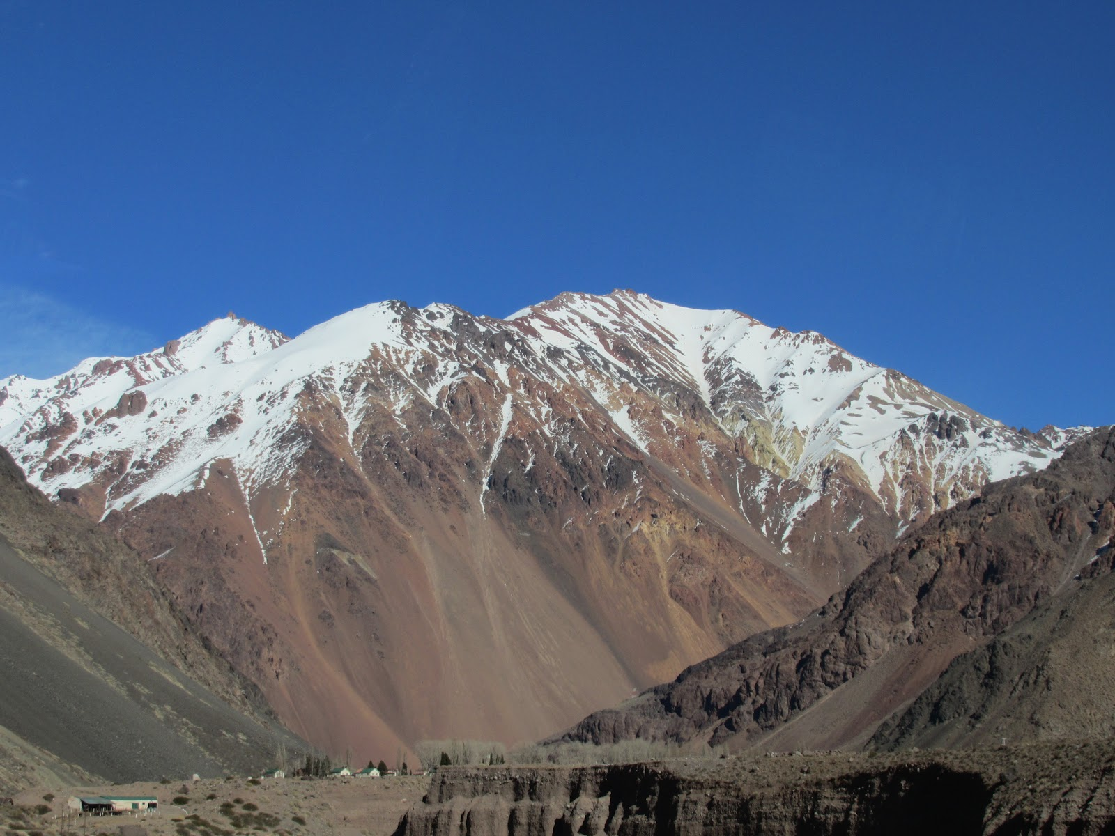 Argentina 2012: Andes Mountains