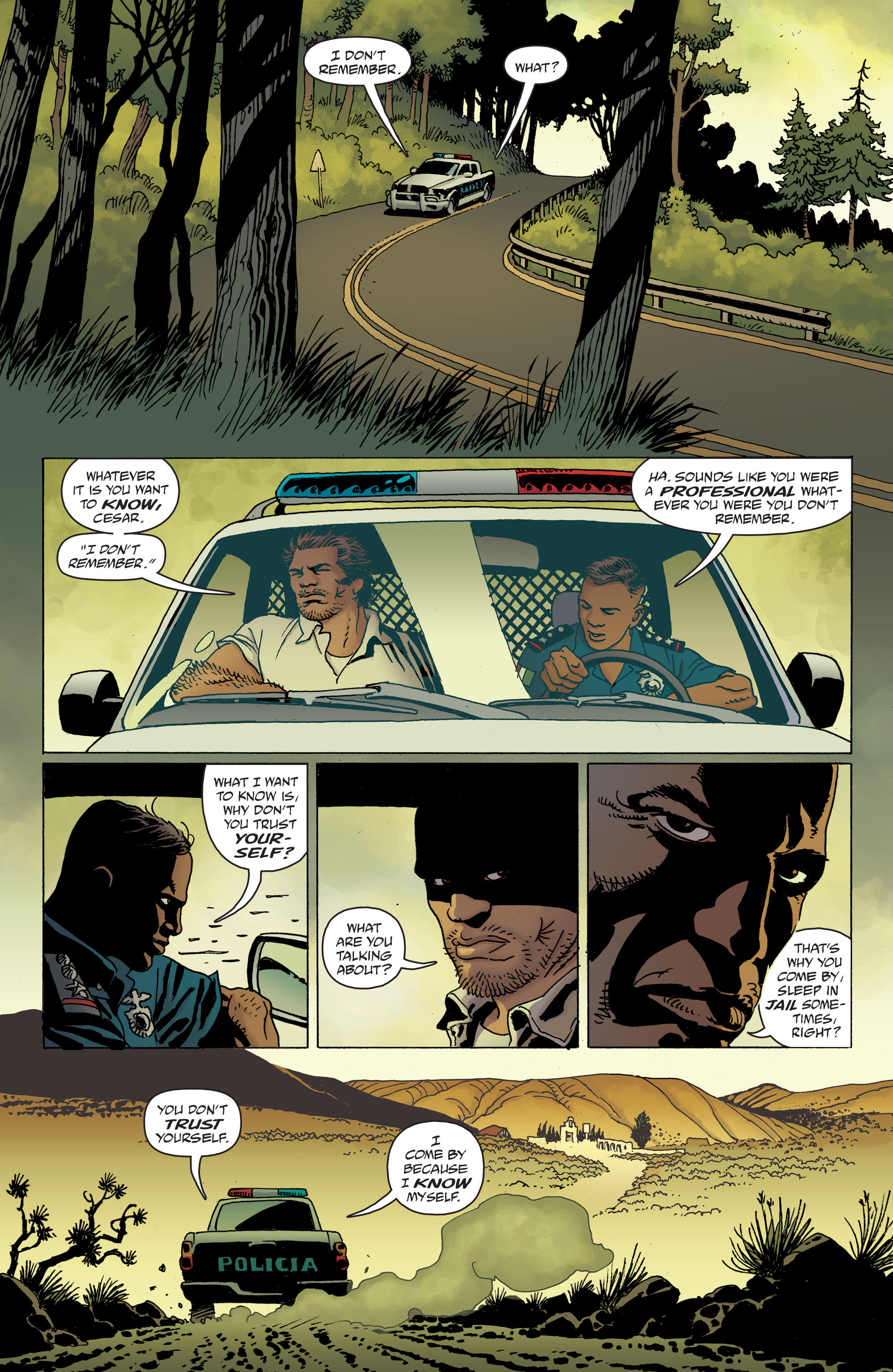 100 Bullets: Brother Lono Full Page 62