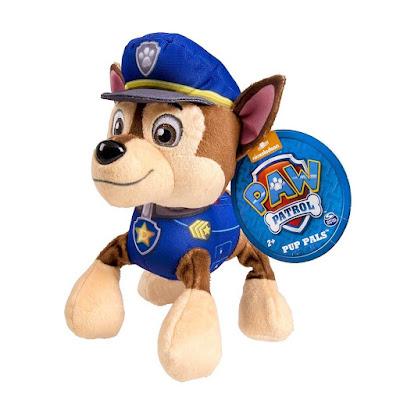TOYS : JUGUETES - PAW PATROL : La Patrulla Canina Chase : Peluche 20 cm Producto Oficial Serie Television 2015 | Bizak | A partir de 2 años Comprar en Amazon España