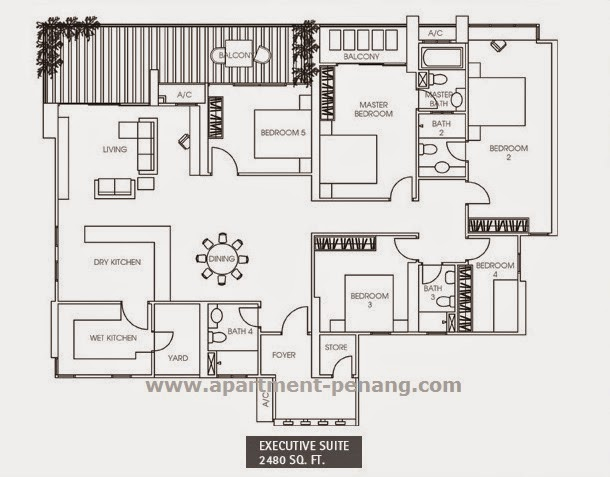 The Peak Residences Apartment Penang Com
