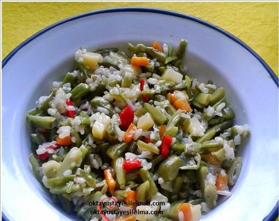 Pirinçli Fasulye Diblesi Tarifi