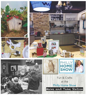 We were delighted to host a workshop at the Philly Home Show